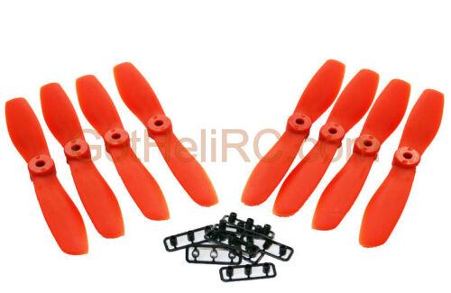 GemFan Nylon Glass Fiber 5045 5x4.5 ORANGE MultiRotor propeller CW CCW Mini250