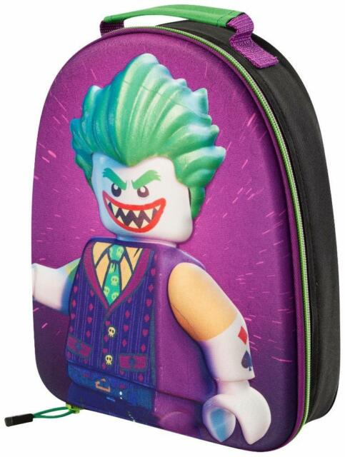 THE LEGO BATMAN  JOKER  3D LUNCH BAG BACKPACK KIDS SCHOOL TRIPS OFFICIAL  9032 4387d2526166f