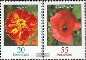BRD-2471A-R-2472A-R-mit-Zaehlnummer-kompl-Ausg-gestempelt-2005-Blumen