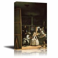 Las Meninas(the Maids Of Honour) By Diego Velazquez - Canvas Print- 24 X 36