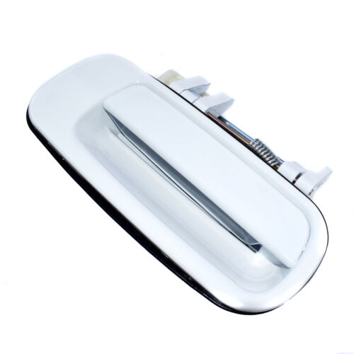 For Toyota Outside Outer Exterior Door Handle Passenger Side Rear Right White