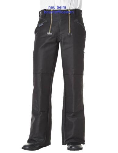 Pantaloni Lavoro Pantaloni artigiani 304 dimensioni 102 Pioniere Gilda Pantaloni Nero con percussione