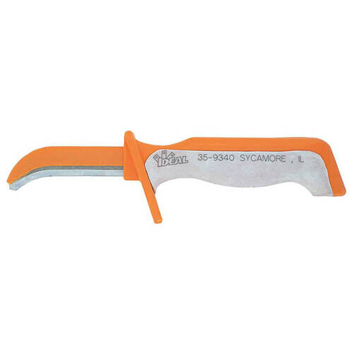 IDEAL Electrical 35-9340 Insulated Electrician's Skinning Knife