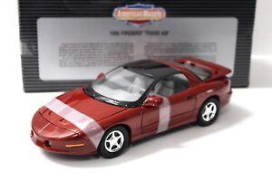 1-18-ertl-Pontiac-Firebird-Trans-Am-1996-Dark-Red-New-en-Premium-modelcars