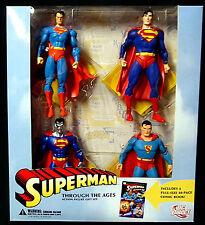 Superman Through the Ages Boxed Figure Set New DC Comics  2006