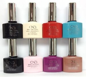CND Shellac LUXE - 65 Shades/Colors 0.42oz/12.5ml - Choose Any Color