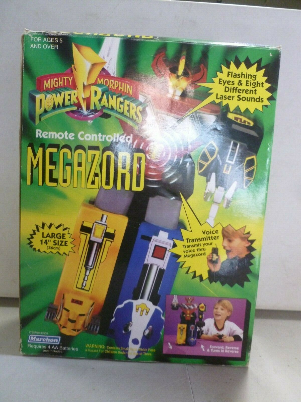Mighty Morphin Power Rangers Remote Controlled Megazord