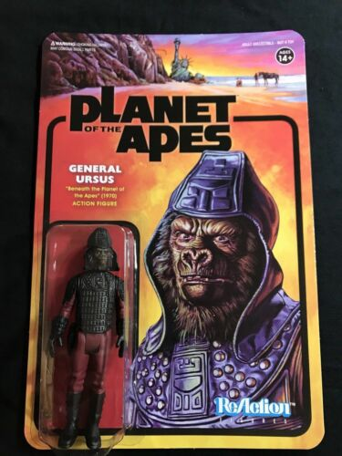"ReAction Super 7 PLANET OF THE APES 3.75/"" Action Figure GENERAL URSUS"