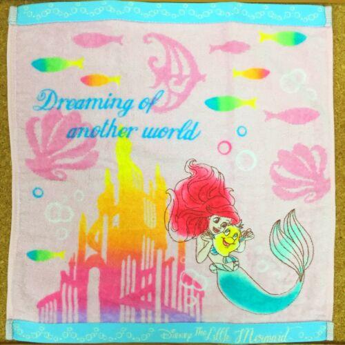 Disney Princess Little Mermaid Ariel Hand Towel Water Cotton 100/%
