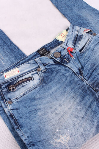 Blau Denim Damen Jeans Hose Trousers//89740 REPLAY WX649 655 573 010 Alanies