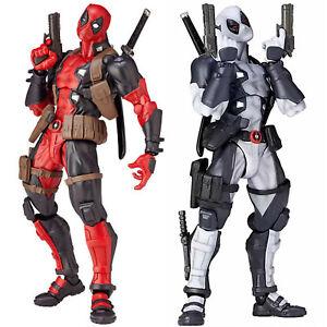 Marvel-Superheld-X-Men-Deadpool-Action-Figur-Statue-Figuren-Spielzeug-Geschenk