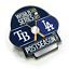 2020-MLB-World-Series-Dueling-Collector-Lapel-Pin-Tampa-Bay-Rays-Los-Angeles-Dod thumbnail 1