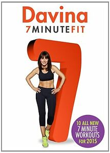 Davina-McCall-039-s-10-Brand-New-7-Minute-Fitness-Techniques-Training-Workout-DVD