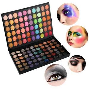 Pro-120Farbe-Lidschatten-Eyeshadow-Kosmetik-Matt-Schminke-Palette-Make-up-Mode