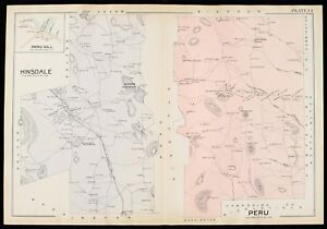 1904 berkshire county massachusetts hinsdale peru copy plat image is loading 1904 berkshire county massachusetts hinsdale peru copy plat gumiabroncs Gallery