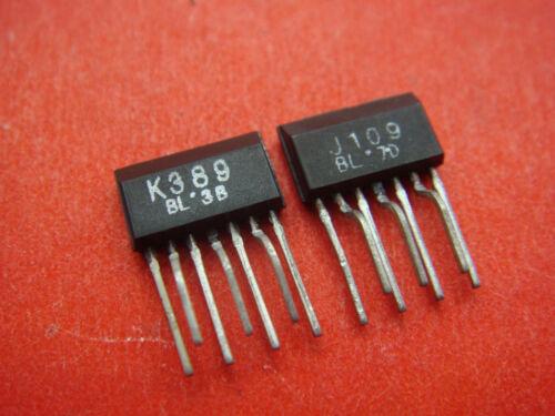 3-pair 2SJ109 J109 & 2SK389 K389 ZIP-7PIN Transistor IC