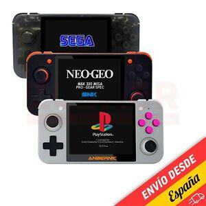 Anbernic RG350 Consola retro emuladores RG 350 Retrogame PSX PS1 Sega NES NEO GB