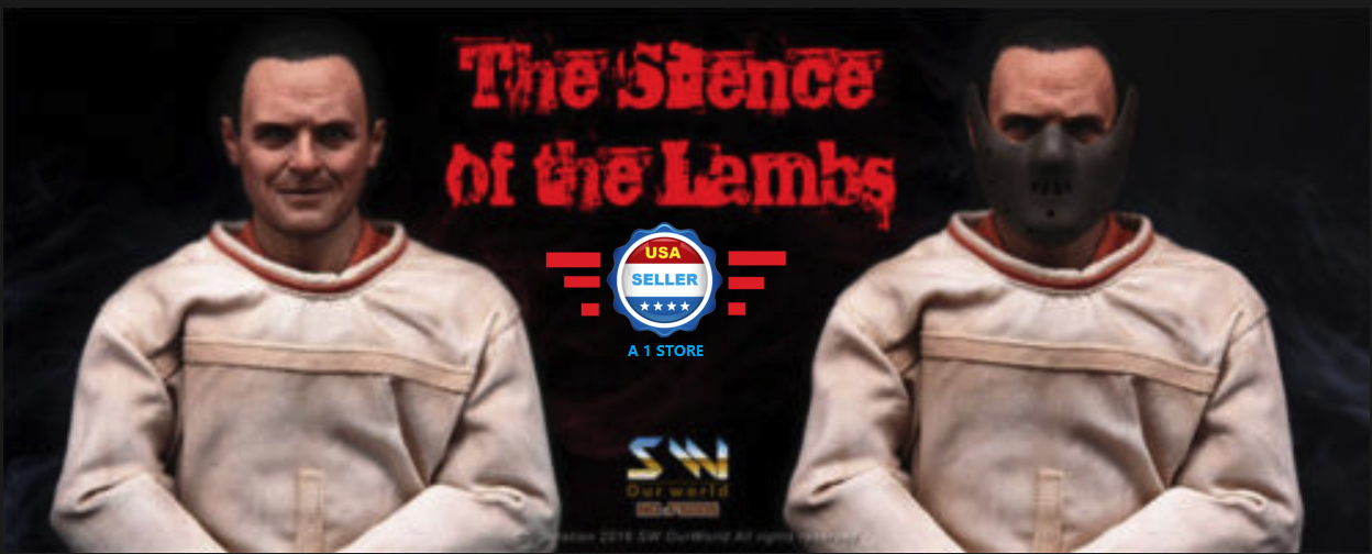 FAST SHIPPING1 6 The Silence of The Lambs Dr. Hannibal Hopkins Figure Full Set