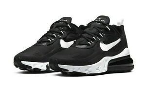 Nike-W-Air-Max-270-React-Black-Size-8-US-Womens-Athletic-Running-Shoes