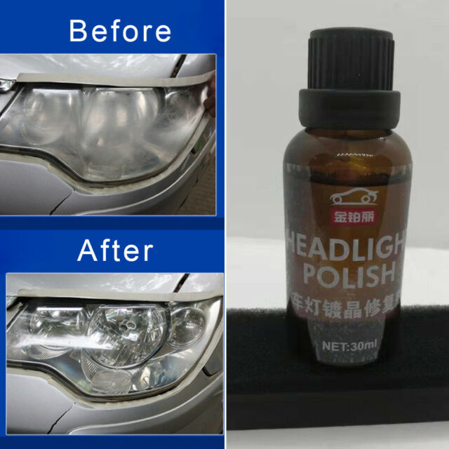 Car Motorcyle Headlight Headlamp Scratch Oxide Polishing Coating Repair Agent