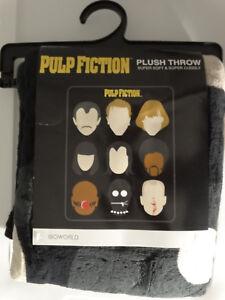 Pulp Fiction Movie Super Soft Plush Throw Blanket 48x60 Nwt