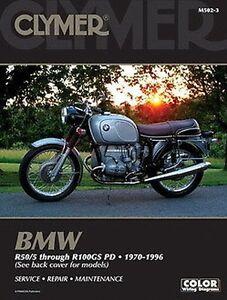 BMW R50 R60 R65 R75 R80 R100GS R100 Séries R 1970-1996 Manuel Clymer M502-3 NEUF MNUvciJi-07135755-226743416