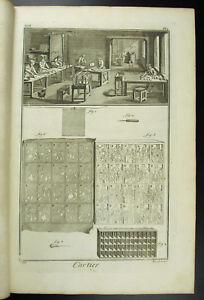 Le Métier De Cartier Tarotier Xviiie 1767 Complet Cardmaking Jeu De Carte Poker Attrayant Et Durable