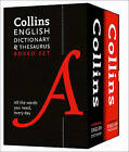 Collins English Dictionary and Thesaurus Boxed Set by Collins Dictionaries (Paperback, 2015)