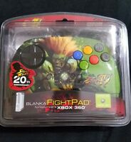 Mad Catz Xbox 360 Street Fighter Iv Fightpad (sf4547280041) Gamepad Blanka