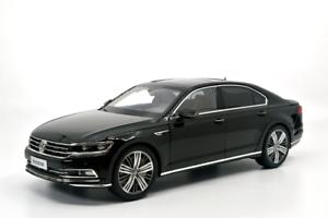 Diecast Escala 1 18 1 18 coches Volkswagen vw phideon 2016 Negro Coche Modelo Diecast