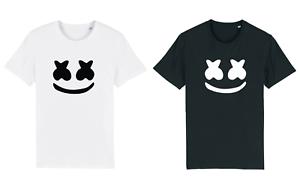 Kids Fortnite MARSHMALLOW HEAD DJ MUSIC GAMER GAMING Tshirt BOYS GIRLS CHICKEN D
