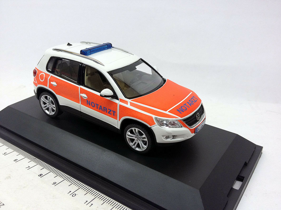 04985 Schuco 1 43 VW TIGUAN pronto soccorso Norimberga medico RTW
