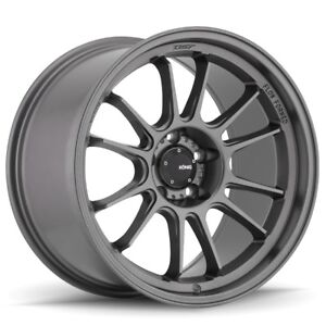 Konig-Hypergram-17x8-35-5x120-Matte-Grey-Set-of-4