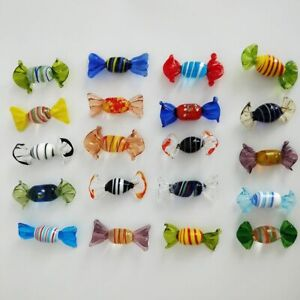 Vintage-Murano-Glass-Sweets-Candy-Wedding-Party-Gift-Xmas-Decor-Ornaments-12pcs