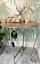 Vintage-Retro-Style-Side-Table-Occasional-Metal-Iron-Bedside-Coffee-Urban-Boho thumbnail 1