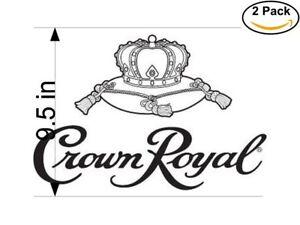 Crown Royal Sticker