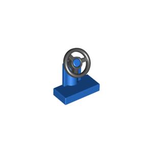 Lot X4 Lego volant BLEU BLUE console wheel 9566-73081