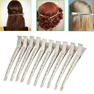 12Pcs-Professional-Metal-Hair-Sectioning-Clips-Salon-Hairdressing-Curling-Grip