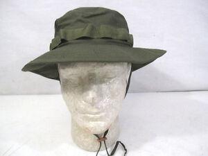 43ddd711b44b9 Vietnam US Army OG-107 Green Ripstop Jungle Boonie Hat 1969 MINT ...
