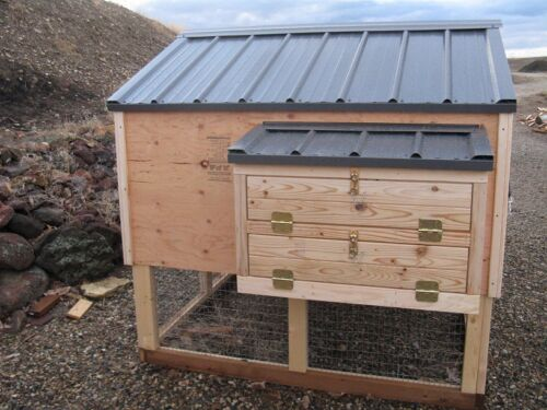 emailed version only Big 6 by 6 Kennel Coop Chicken coop plan /& material list