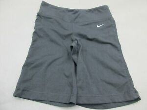 Nike-Size-XS-Womens-Black-Athletic-Dri-Fit-Gym-Training-Sportswear-Shorts-846