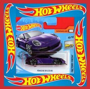 Hot-Wheels-2019-Porsche-911-gt3-RS-246-250-neu-amp-ovp
