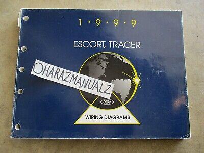 1999 Ford Escort Mercury Tracer Wiring Diagrams Manual OEM ...