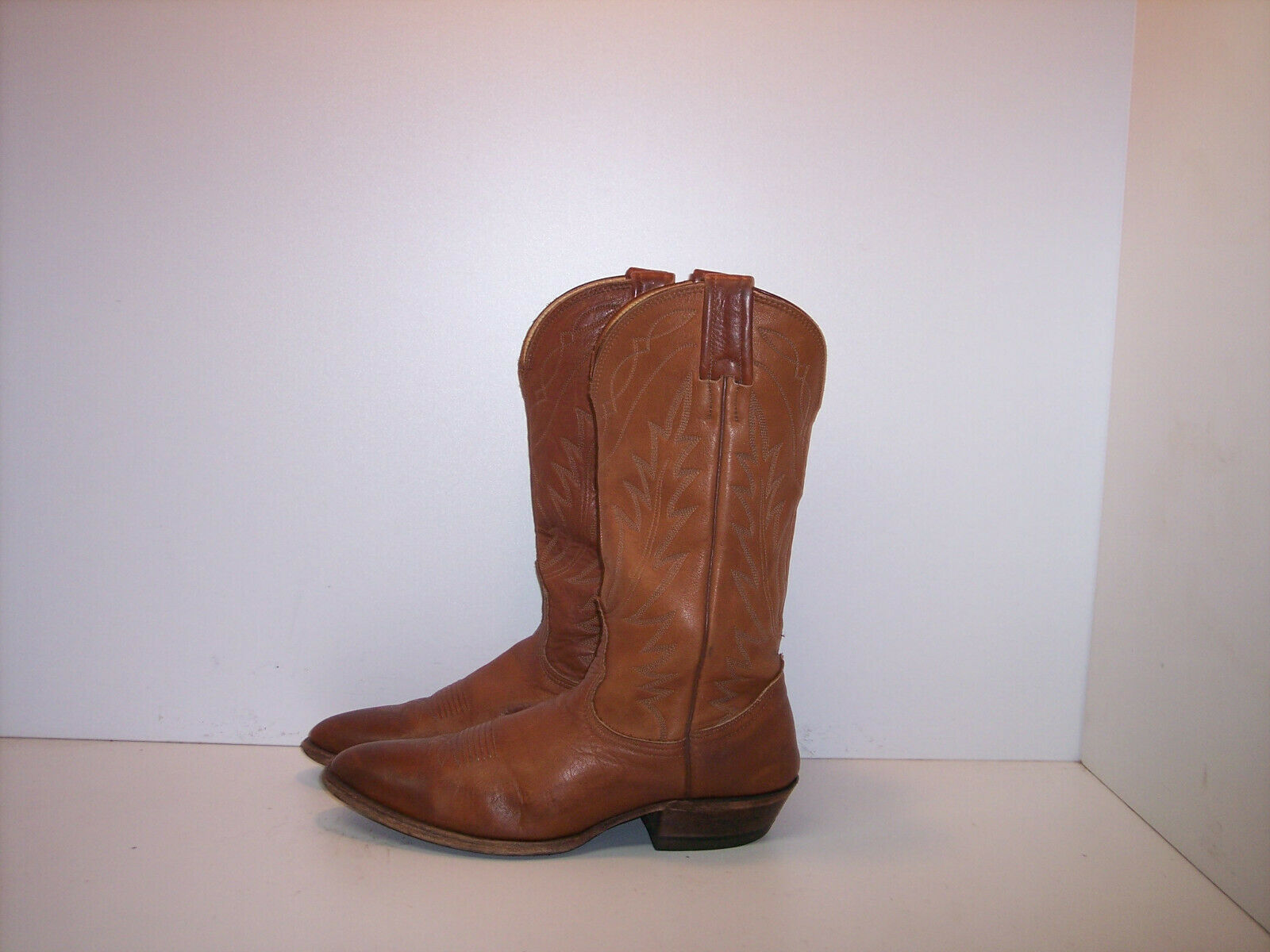 NOCONA Brown Leather Western Boots Women's Size 7.5 B