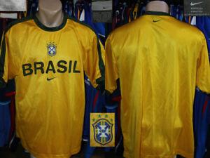 Vintage Jersey Camiseta Shirt BRAZIL BRASIL Nike 2002/2003 Training CONMEBOL