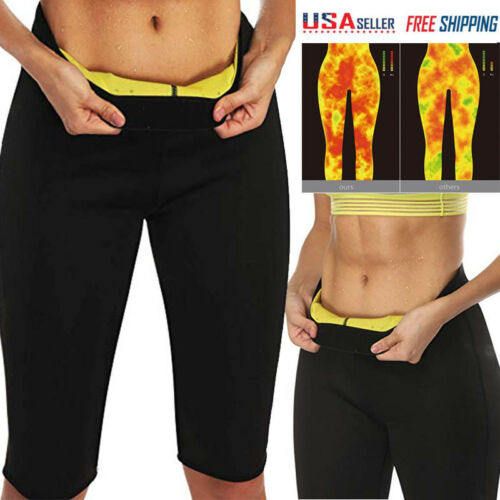 Mid length Sweat Shaper Women Thigh Sauna Hot Body Trimmer Shapewear Slim Pants 7RxnUwqz