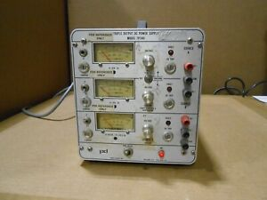 POWER-DESIGNS-MODEL-TP340-TRIPLE-OUTPUT-DC-POWER-SUPPLY