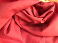 Curtain Fabric Laura Ashley Salmon Canvas Weave 17 Metre Roll 108 Wide