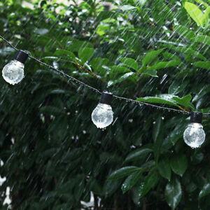 DEL-solaire-alimente-Retro-Ampoule-String-Lumieres-Jardin-Exterieur-Fairy-Party-Accrocher-Lampe