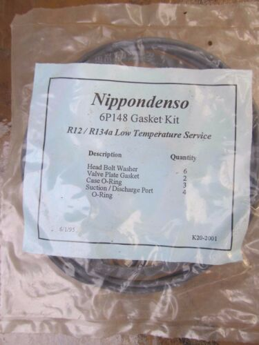 gasket kit USA MADE NEW Nippendenso 6P148 AC Compressor O ring